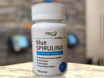 پودر اسپیرولینا آبی