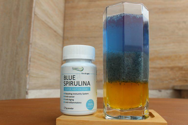 پودر اسپیرولینا آبی 25 گرمی