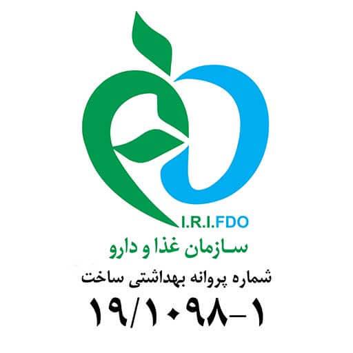 مجوز سازمان غذا و دارو برای وبسایت گرین سی