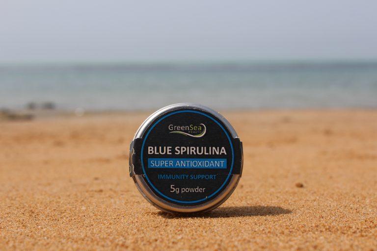 پودر اسپیرولینا آبی 5 گرمی