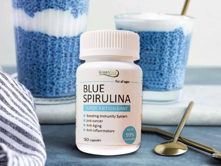 کپسول اسپیرولینا آبی